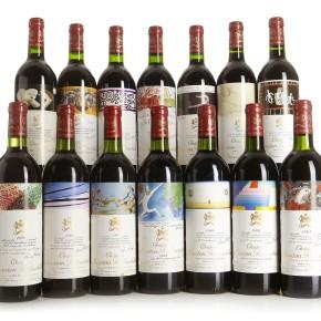 Årgangsvurderinger av rød  Bordeaux  1945-2013
