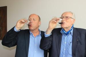 Einar og Jens smaker