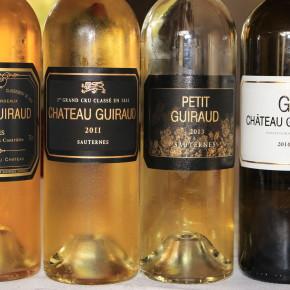 Årgangsvurderinger av tørr hvit Bordeaux 1945-2015