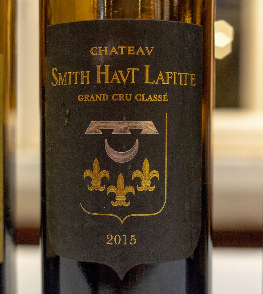 2015 Smith-Haut-Lafitte blanc